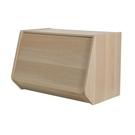 日本 IRIS 木質可掀門堆疊櫃 W60xH40cm 淺木色