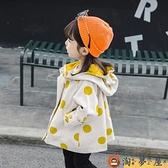 女童外套春秋洋氣兒童風衣秋裝上衣小女孩外衣【淘夢屋】