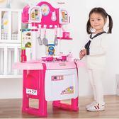小伶兒童廚房玩具套裝仿真廚具做飯女童女孩煮飯過家家寶寶3-6歲7第七公社