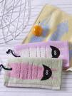 【5條裝】棉質小毛巾 兒童洗臉家用小面巾 可愛卡通 柔軟吸水