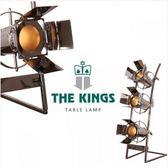 THE KINGS Rocker studio搖滾樂團攝影棚復古工業檯燈