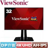 ViewSonic優派 32型 AH-IPS專業液晶螢幕 VP3268-4K