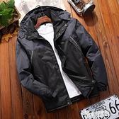 秋季戶外運動登山服情侶單層沖鋒衣男女加絨加厚夾克薄款防風外套 618促銷