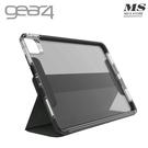 Gear4 iPad Air 10.9吋/Pro 11吋 Brompton 軍規可分離式防摔側翻保護套-灰黑色 附筆夾