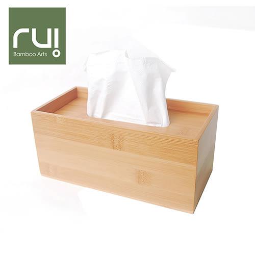 Rui 台灣竹手工巧抽面紙盒(長型)(收納盒 木工藝 家用品)