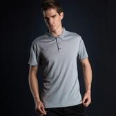 運動短袖男士T恤POLO衫速干透氣寬鬆版型純色健身房跑步休閒上衣