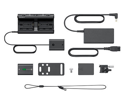 【震博】Sony NPA-MQZ1K 多型號電池轉接器套裝 (分期0利率;台灣索尼公司貨)A9/A7RM2/A7SM2