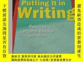 二手書博民逛書店罕見!PUTTING IT IN WRITINGY156492