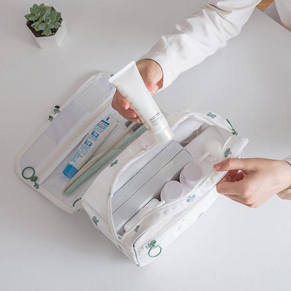 旅行洗漱包女防水韓國簡約便攜式多功能大容量出差小化妝品收納袋