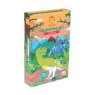 【澳洲 Tiger Tribe】旅行著色盒-恐龍盛會