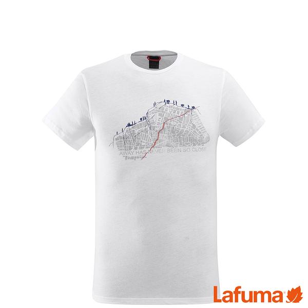 LAFUMA 男 ADVENTURE 排汗短袖T恤 白 LFV113270020【GO WILD】