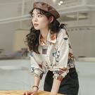"""免運 -ZUCA""""S -襯衫襯衣上衣女設計感小眾長袖襯衫- XA-7157"""