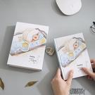 金谷密碼本子中學生多功能筆記本帶鎖成人韓國創意小清新復古文藝插畫記事本女歐式  街頭布衣