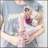 串串心馬林糖乾燥花束CO003 情人節花束 告白花束 生日花束 教師節禮物 玫瑰花束
