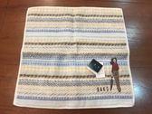 【京之物語】DAKS日本製都會時尚女性千鳥紋純棉方巾