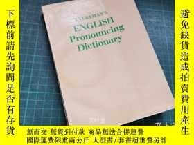 二手書博民逛書店萬葉堂英文原版罕見Everymans English pronouncing DictionaryY25771