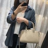 真皮手提包-純色經典牛皮波士頓包女側背包4色73yc37【巴黎精品】