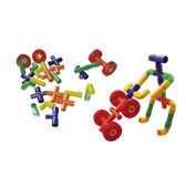 輪子水管兒童幼兒教具玩具道具遊戲想像創造建構 組裝積木拼接