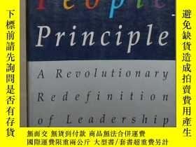 二手書博民逛書店英文原版罕見The People Principle by Ro