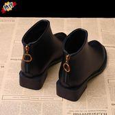 馬丁靴 英倫風新品短靴女秋冬季單靴學生粗跟正韓小跟鞋百搭
