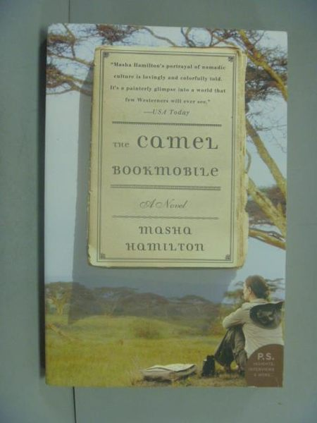 【書寶二手書T8/原文小說_GDF】The Camel Bookmobile_Masha Hamilton