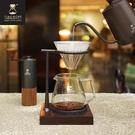 TIMEMORE 泰摩 【玻璃】 冰瞳手沖咖啡套裝組(玻璃分享壺360ml+玻璃濾杯01號)