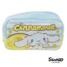 【日本進口正版】大耳狗 Cinnamoroll 三麗鷗人物 棉質 長型 收納包 零錢包 Sanrio - 430078