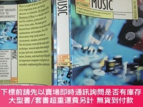 二手書博民逛書店The罕見Harper Collins Dictionary of Music (哈珀柯林斯音樂詞典)Y140
