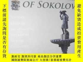二手書博民逛書店A罕見BOOK ABOUT THE TOWN OF SOKOLO