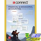 106 美國直購2017 美國暢銷軟體Connect 2 Semester Access Card for Financial and Managerial A