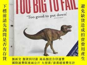 二手書博民逛書店Too罕見Big to Fail: Inside the Bat