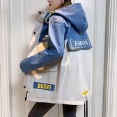 工裝短款外套女士春秋冬季年新款韓版寬鬆百搭夾克時尚上衣潮 母親節禮物