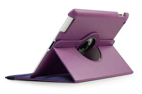 免運  ipad 4 / ipad 2 / ipad 3 /new iPad皮套 保護套 360度旋轉三檔位 支架