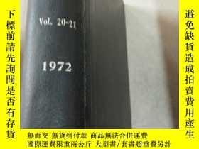 二手書博民逛書店organometallc罕見compounds Vol.20-