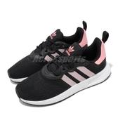 adidas 休閒鞋 X_PLR S W 黑 粉紅 白 女鞋 輕量透氣 運動鞋【ACS】 EG5464