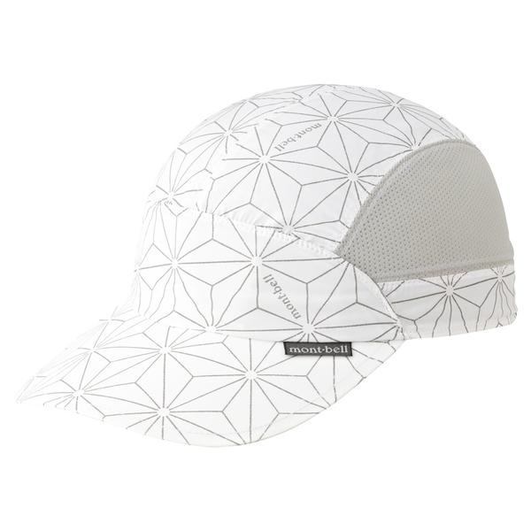 [好也戶外]mont-bell 反光棒球帽 REFLEC CAP 白色/黑色 No.1118653-WT/BK