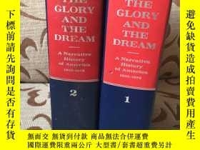 二手書博民逛書店The罕見glory and the dream by William Manchester -- 曼徹斯特《光榮
