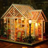 diy小屋手工制作小房子模型拼裝玩具禮物【南風小舖】
