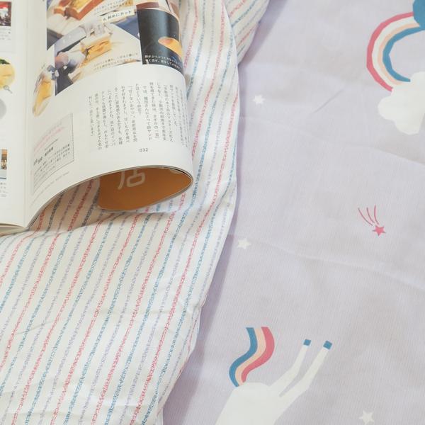彩虹小馬 S1單人床包二件組 100%精梳棉 台灣製 棉床本舖