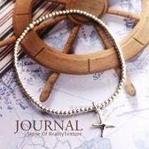 925 純銀海星銀珠彈性手鍊_ 質物日誌Journal