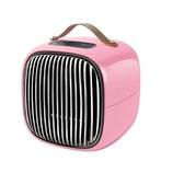 Invni Life 台灣 簡約美型暖風機 粉色 MEH-01 陶瓷發熱 皮革提把 斷電保護 智能監測溫度【易遨遊】