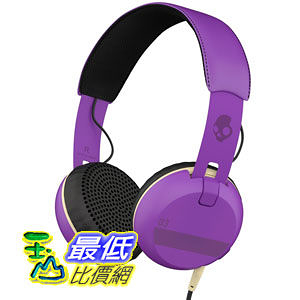 [104美國直購] Skullcandy Grind ILL Famed 耳機 Purple/Black S5GRHT-468