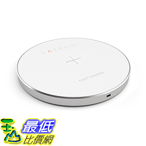 [美國直購] Satechi 金/灰/銀色 無線充電器 Charging Pad for Qi-enabled devices 適用Nexus, Samsung Galaxy, Note
