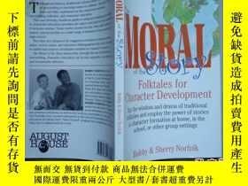 二手書博民逛書店THE罕見MORAL OF THE STORY:folktale