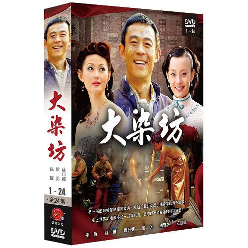大染坊 DVD ( 侯勇/羅鋼/薩日娜/王思懿/孫儷/何偉/張秋歌/楊光華/周野芒/劉奕君 )