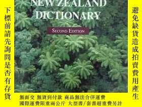 二手書博民逛書店THE罕見NEW ZEALAND DICHTIONARY(英文原