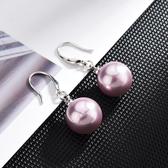 【新飾界】珍珠耳環:高級感925純銀女耳鉤耳飾