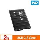 全新 WD 黑標 P10 Game Drive 2TB 2.5吋電競行動硬碟 公司貨