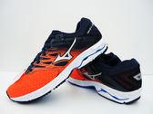 美津濃  MIZUNO 男慢跑鞋  WAVE SHADOW 2 WIDE (橘藍)  寬楦路跑鞋  J1GC182703【 胖媛的店 】