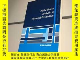 二手書博民逛書店Public罕見Choice Analysis in Historical Perspective (英語) 平裝